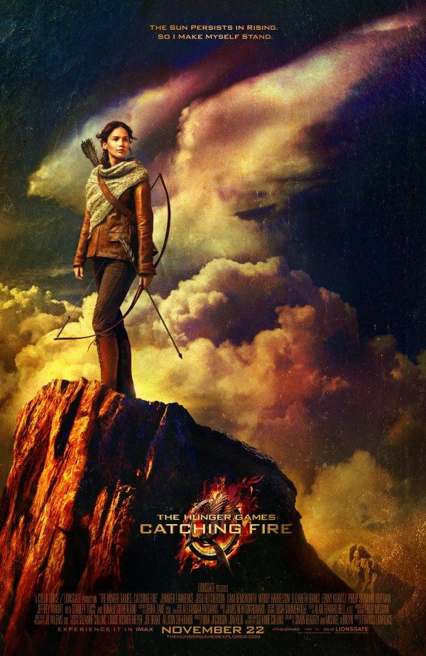 The Hunger Games: Catching Fire - First Katniss Poster