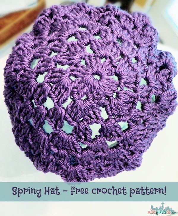 Crochet How To: Free Adult Hat Pattern and Video Tutorial ...