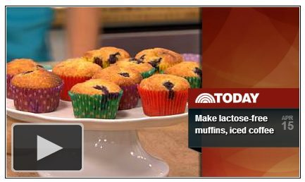 Lactose-free Blue Berry Muffin Recipe