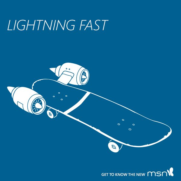 MSN.com: My News, Lighting Fast  #MSNKnowNow