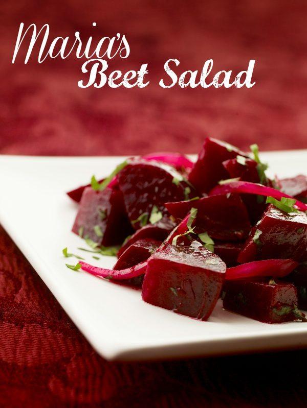 Maria's Easy Beet Salad Recipe