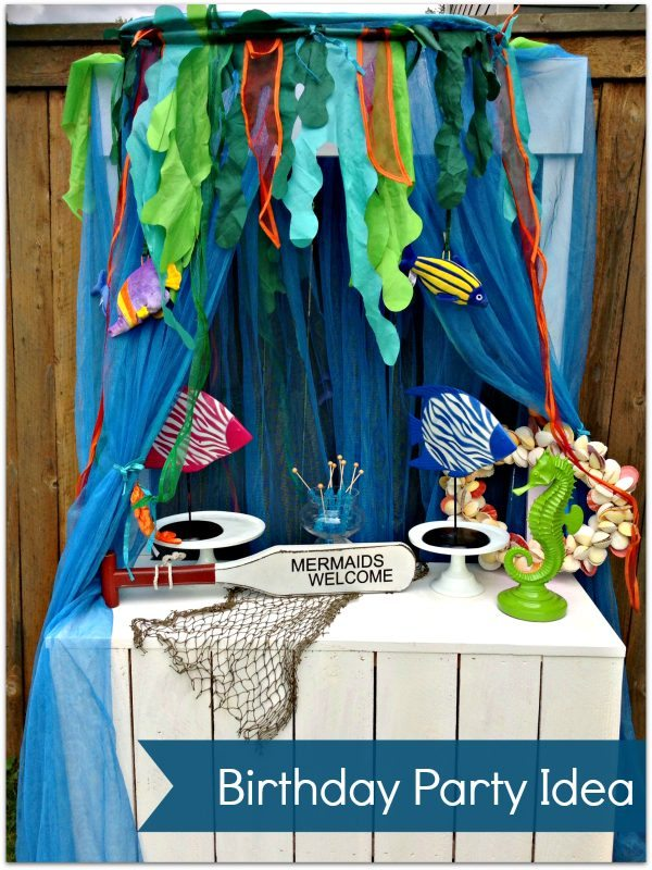 Mermaid Birthday Party Decorations by Three M Parties