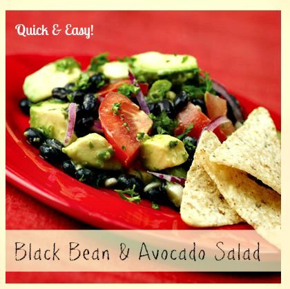 Recipes for Black Beas - Mexican Avacado Salad