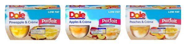 New Dole Fruit Parfaits