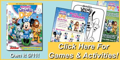 Printables: Mickey Mouse Clubhouse: Minnie's The Wizard Of Dizz