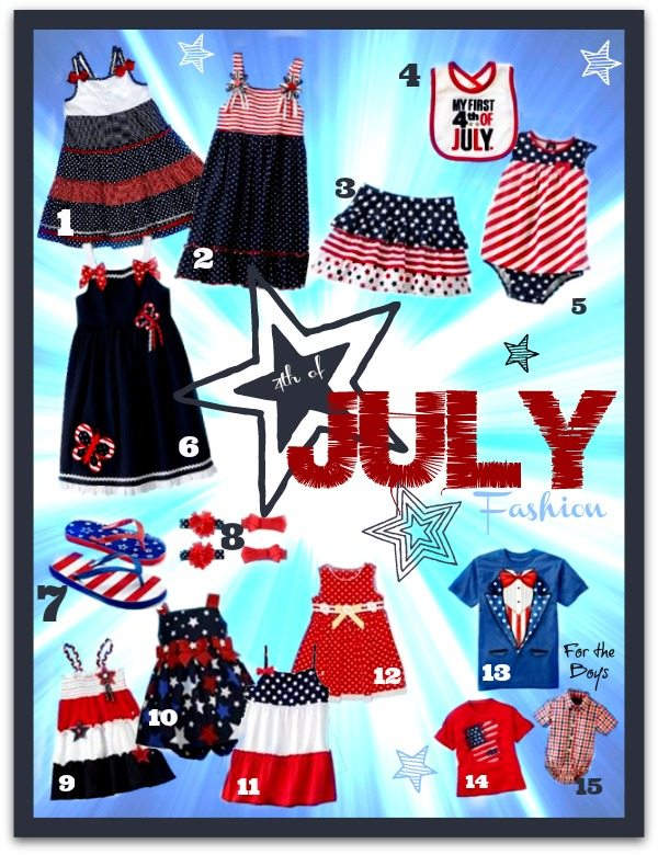 4th of July Kids Fashions