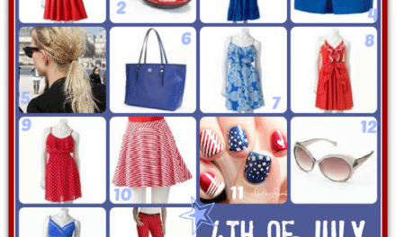 4th of July Inspired Summer Fashion 2013 for Mom