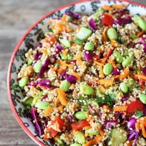 Asian Quinoa Salad by Two Peas and Their Pod