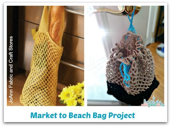 Free Beach or Market Bag Crochet Pattern