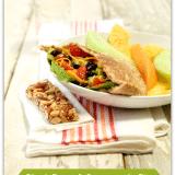 Black Bean and Guacamole Pita Recipe