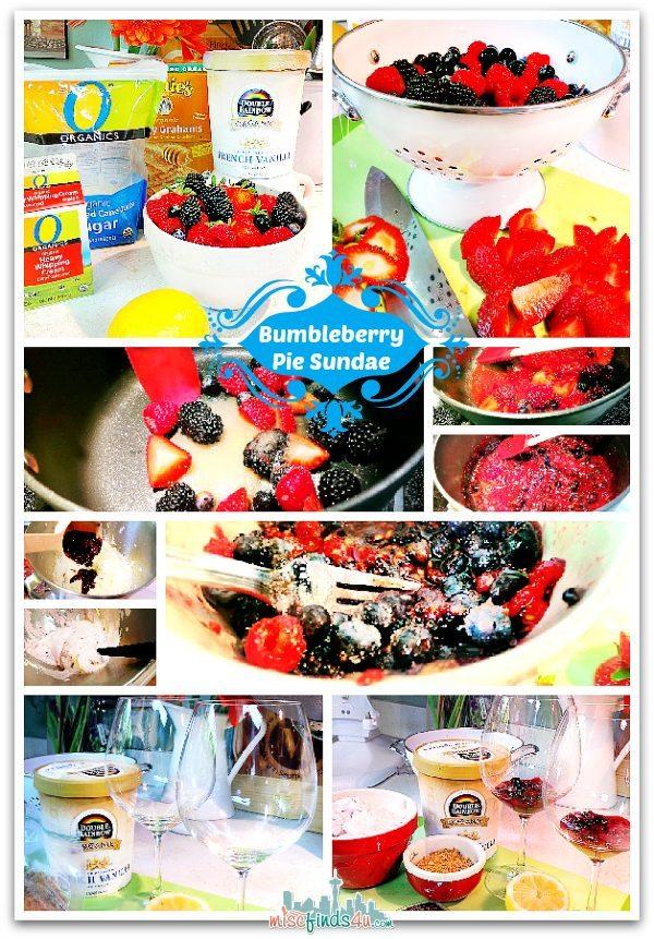 Gail Simmon's Bumbleberry Pie Sundae Recipe  #MyPlatinum Sponsored