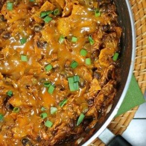 Chicken Enchilada Skillet by Emily Bites