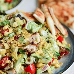 Recipes for Summer - Chopped Chicken Taco Salads Recipe