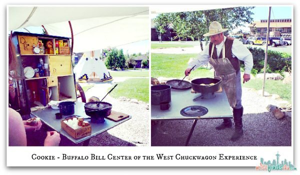 Chuckwagon Demo and Sampling Center of the West