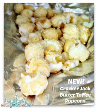 Cracker Jack Butter Toffee popcorn