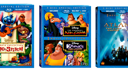 Disney 3-Disc Special Edition Combo Packs Out Now