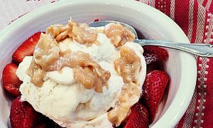 Coconut  Dulce De Leche Ice Cream Topping Recipe