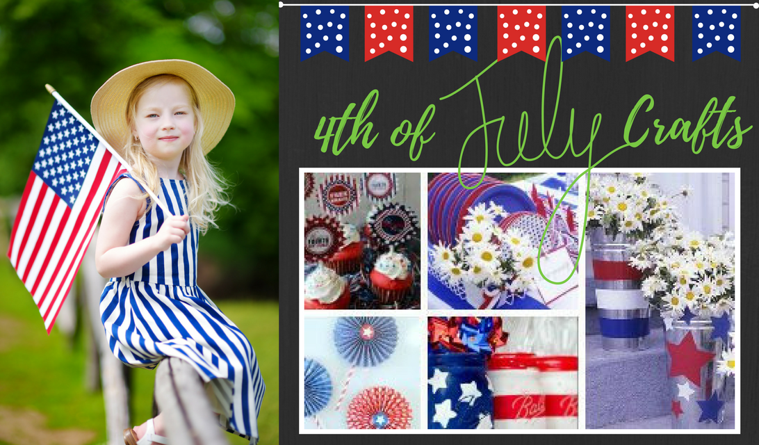 4th Of July Crafts Fun And Easy With A Patriotic Theme