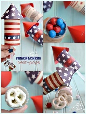 Firecracker Treat Pops