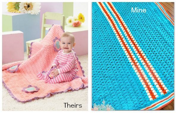 Free Baby Afghan Pattern - Make it yours with a few simple changes