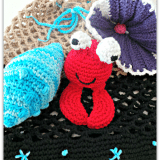 Free Crochet Beach Bag and Toys Pattern