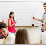 High School Students in Classroom - financial assessment for teens