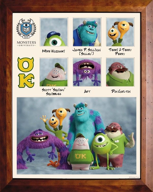 Monsters University Fraternity OK