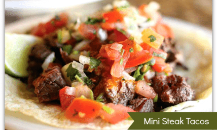 Steak Tacos with Spicy Pico De Gallo Recipe