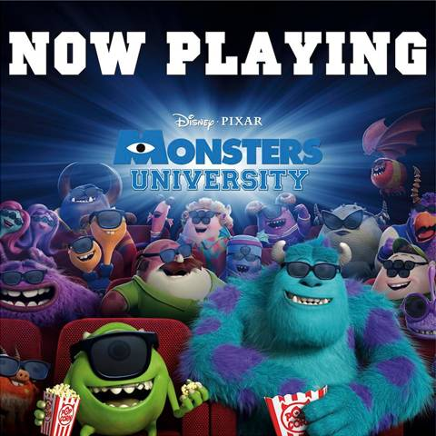 Monsters University  in theaters