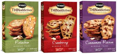 Nonni's THINaddictives cookies