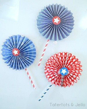 Printable 4th of July Craft Project from Tater Tots and Jello
