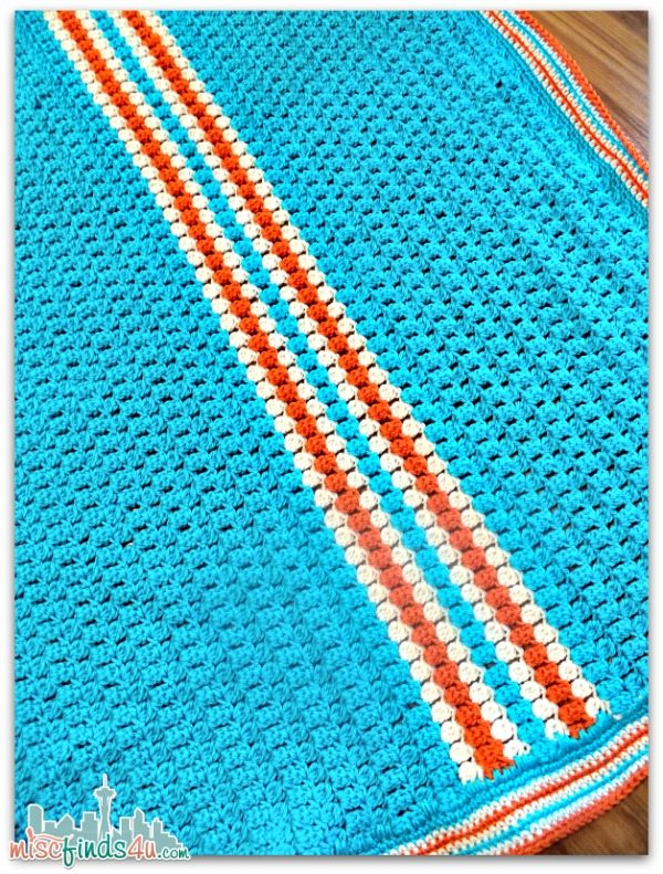 Race Stripe Afghan