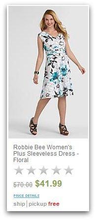 Sears Robbie Bee Plus Size Dress
