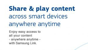 Samsung Link Replaces Samsung AllShare Play #VZWBuzz