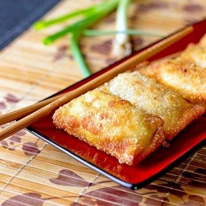 Scallion Cheese Poppers Recipe