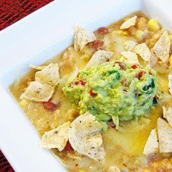 Slow Cooker White Chicken Chili Recipe by Sweet Anna's
