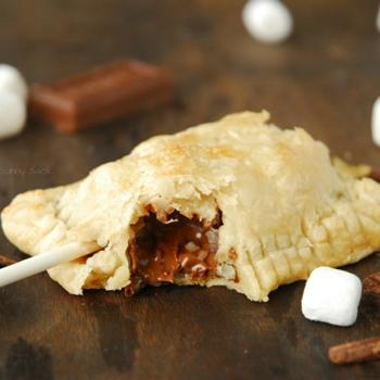 Smore Pie Pops Recipe