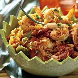 Recipes for Summer - Spicy Pepper Shrimp Rice Recipe