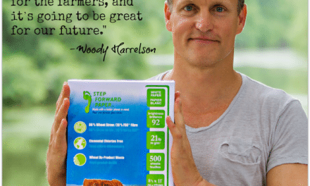 Step Forward Paper: Woody Harrelson Launches Wheat-Straw Paper