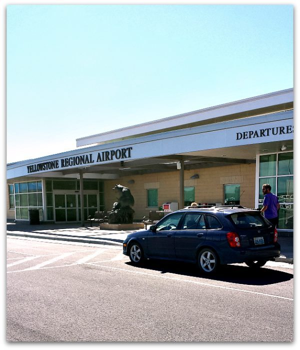 Yellowstone Regional Airport Departures