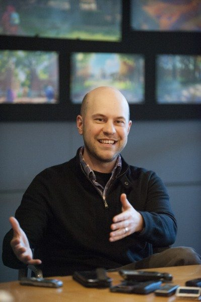 Dan Scanlon - Director Monsters University - Photo Credit: Disney/Pixar - Used with Permission