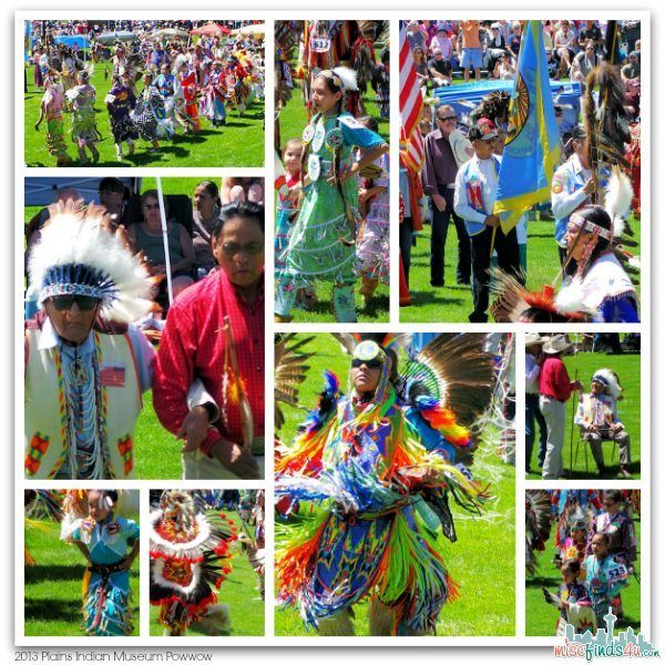 2013 Plains Indian Museum Powwow Grand Entry