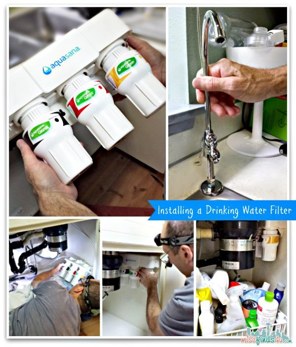 Aquasana Drinking Water Filter - Easy Installation