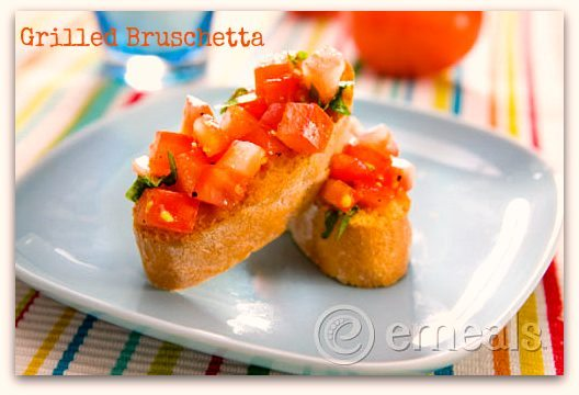Bruschetta – Easy Grilled Appetizer Recipe