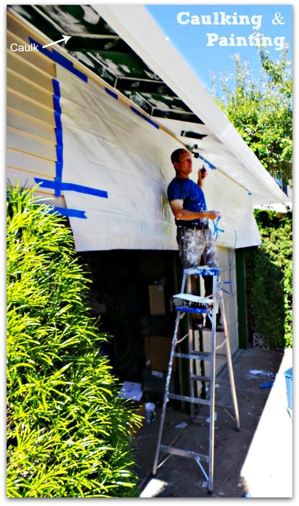 DIY Home - Caulking and Painting the Exterior