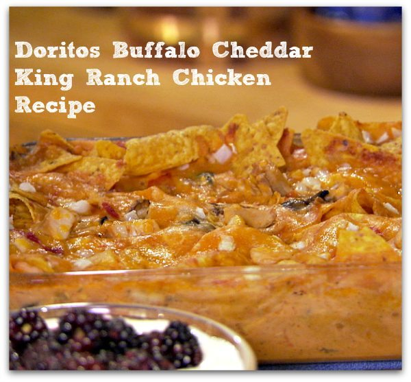 Doritos Buffalo Cheddar King Ranch Chicken Recipe