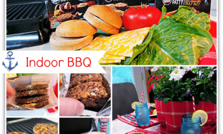 Chez Marie Veggie Patty – Indoor BBQ Picnic