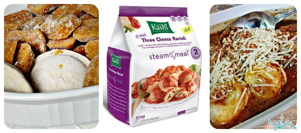 Kashi Steam Meals for Two - Three Cheese Ravioli