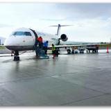 Landing at Cody Wyoming Airport