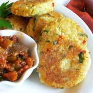 Quinoa Goat Cheese Cakes recipe by Lisas Kitchen